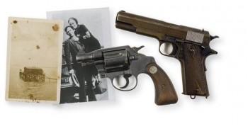 Bonnie & Clyde Colt 45 & Snub Nose 38