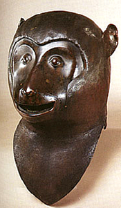 Chinese Monkey Fountain Head