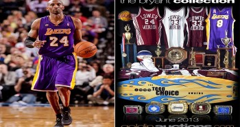 kobe bryant memorabilia auction