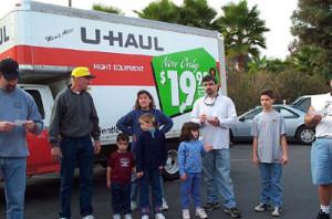 Family Bonding at storage auction